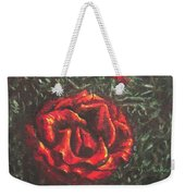 Portrait Of A Rose 6 Weekender Tote Bag