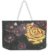 Portrait Of A Rose 7 Weekender Tote Bag