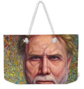 Portrait Of A Serious Artist Weekender Tote Bag