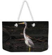 Portrait Of A Tri-colored Heron Weekender Tote Bag