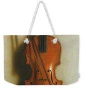 Portrait Of A Violin Weekender Tote Bag