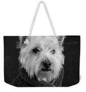 Portrait Of A Westie Dog 8x10 Ratio Weekender Tote Bag
