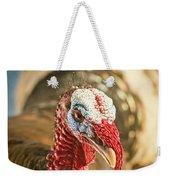 Portrait Of A Wild Turkey Weekender Tote Bag