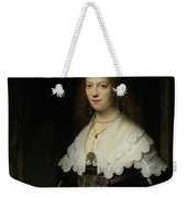 Portrait Of A Woman - Possibly Maria Trip Weekender Tote Bag