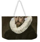 Portrait Of A Young Gentleman Weekender Tote Bag