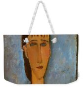 Portrait Of A Young Girl 1910 Weekender Tote Bag