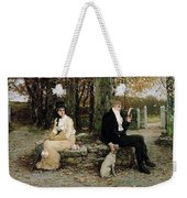 Portrait Of A Young Girl Adolphe William Bouguereau Weekender Tote Bag