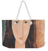 Portrait Of A Young Girl Weekender Tote Bag by Amedeo Modigliani