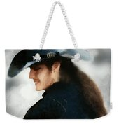 Portrait Of A Young Man As A Buccaneer Weekender Tote Bag