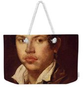 Portrait Of A Young Man Weekender Tote Bag