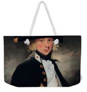 Portrait Of A Young Midshipman Sir Henry William Beechey Weekender Tote Bag