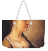 Portrait Of A Young Woman 1640 Weekender Tote Bag