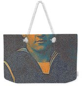 Portrait Of A Young  Wwi Soldier Series 10 Weekender Tote Bag