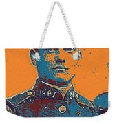 Portrait Of A Young  Wwi Soldier Series 12 Weekender Tote Bag