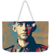 Portrait Of A Young  Wwi Soldier Series 19 Weekender Tote Bag