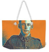 Portrait Of A Young  Wwi Soldier Series 6 Weekender Tote Bag