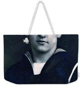Portrait Of A Young  Wwi Soldier Series 8 Weekender Tote Bag