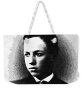 Portrait Of A Youth 30 By Adam Asar -  Asar Studios Weekender Tote Bag