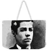 Portrait Of A Youth 38 By Adam Asar -  Asar Studios Weekender Tote Bag