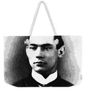 Portrait Of A Youth 39 By Adam Asar -  Asar Studios Weekender Tote Bag
