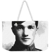 Portrait Of A Youth From History Series. No 10 Weekender Tote Bag
