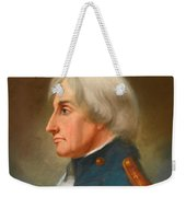 Portrait Of Admiral Lord Nelson Weekender Tote Bag