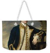 Portrait Of Admiral Sir Hugh Palliser 1st Bart Weekender Tote Bag