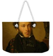 Portrait Of Alexander Pushkin 1827 Weekender Tote Bag