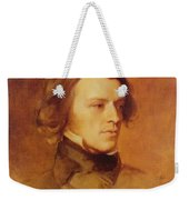 Portrait Of Alfred Lord Tennyson Weekender Tote Bag