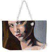 Portrait Of Amanda Weekender Tote Bag