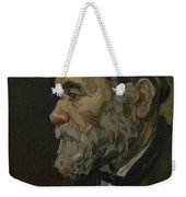 Portrait Of An Old Man Antwerp December 1885 Vincent Van Gogh 1853  1890 Weekender Tote Bag