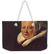 Portrait Of An Old Woman 1645 Weekender Tote Bag