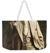 Portrait Of An Unknown Man By Constantine Gorski, 1896. Weekender Tote Bag