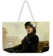 Portrait Of An Unknown Woman Weekender Tote Bag