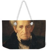 Portrait Of Andrew Jackson Weekender Tote Bag