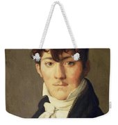 Portrait Of Auguste Francois Talma Ensign Nephew Of The Tragedian Talma Weekender Tote Bag