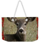 Portrait Of Bambi Weekender Tote Bag