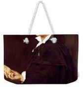 Portrait Of Bartolini Weekender Tote Bag