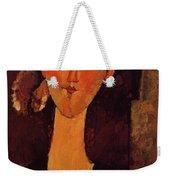 Portrait Of Beatrice Hastings 1915 Weekender Tote Bag