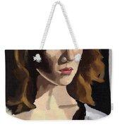 Portrait Of Becca Weekender Tote Bag