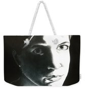 Portrait Of Bridget L. Weekender Tote Bag