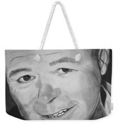 Portrait Of Bryan Cummings Weekender Tote Bag