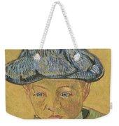 Portrait Of Camille Roulin Weekender Tote Bag