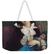Portrait Of Catherine Du Bouchage Weekender Tote Bag