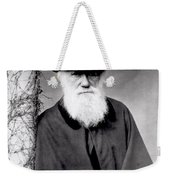 Portrait Of Charles Darwin Weekender Tote Bag