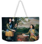 Portrait Of Charles I And Sir Edward Walker Weekender Tote Bag
