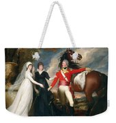 Portrait Of Colonel Fitch And His Sisters Weekender Tote Bag
