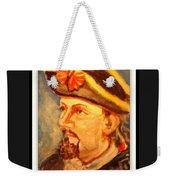 Portrait Of Conrad As British Soldier Weekender Tote Bag