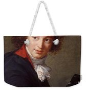Portrait Of Count Grigory Chernyshev With A Mask In His Hand     Lisabeth Louise Vige Le Brun Weekender Tote Bag