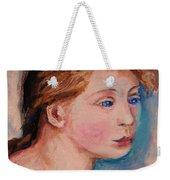 Portrait Of  Country Girl Weekender Tote Bag